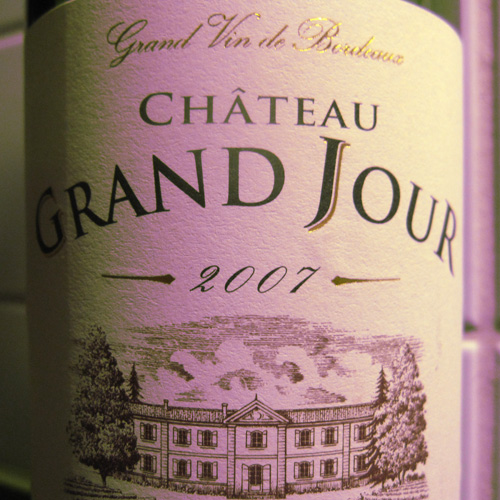 Chateau Grand Jour 2007