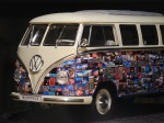 Der VW Motivbus - noch in Miniatur